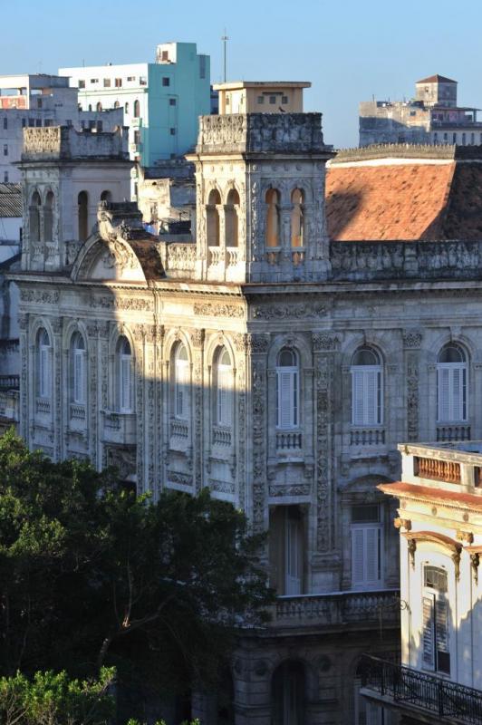 La Havane, vue aérienne