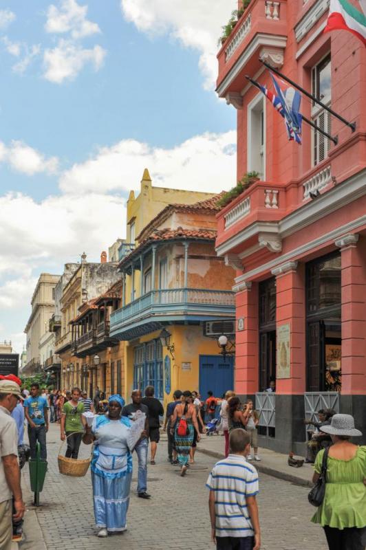 Hotel ambos mundos, dans lequel séjournait Ernest Hemingway