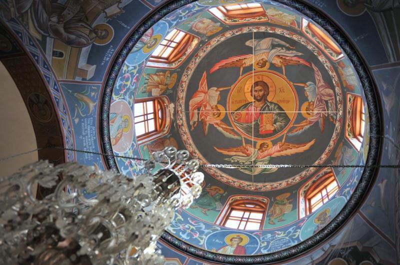 Coupole de l'église de Panormo