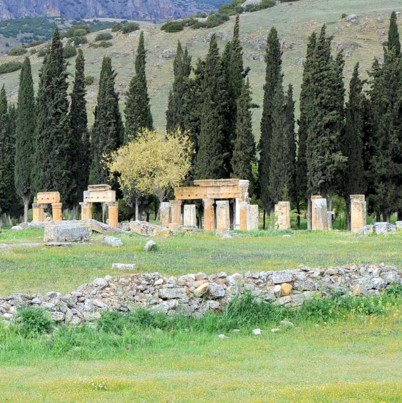 Vestiges du site de Pamukkalé