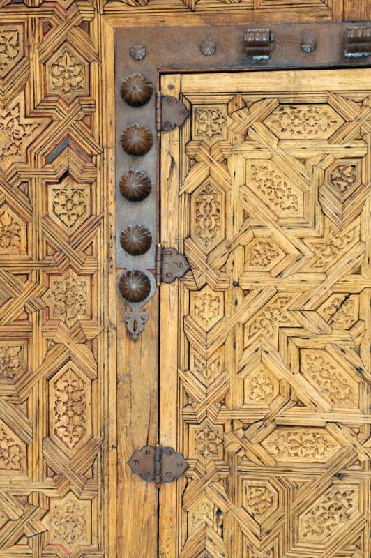 Détail d'une porte