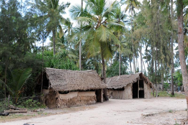 Cases du village de Nungwi