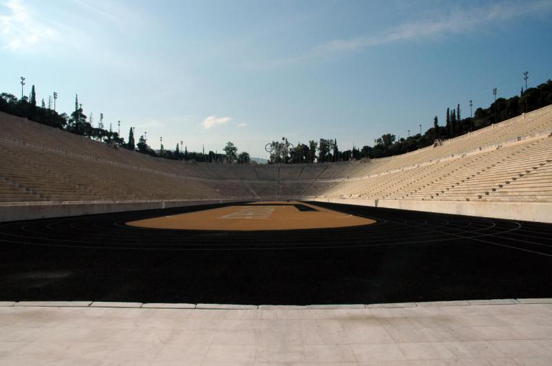 Athènes, le stade Olympique