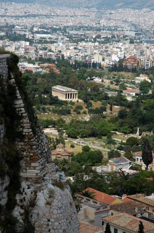 Athènes,vue de l'Acropole