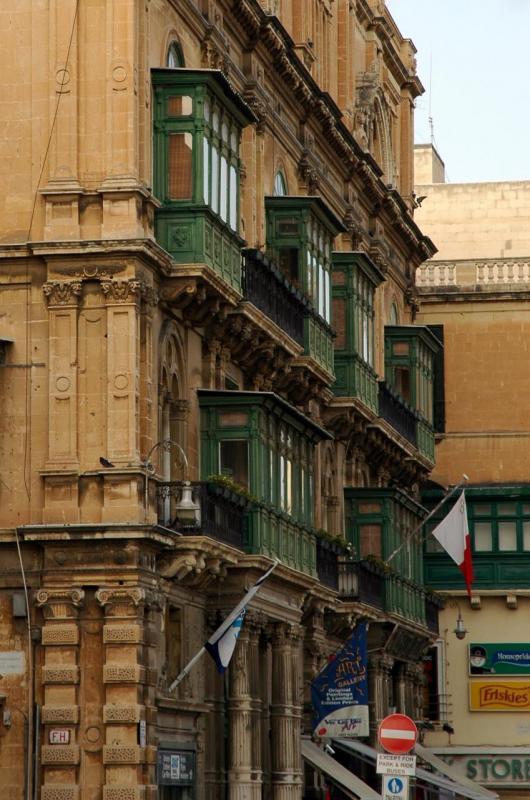 Dans les rues de La Valette