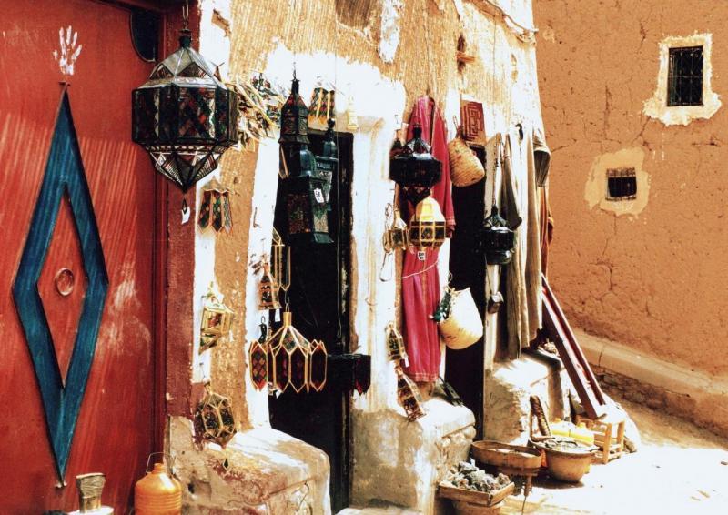 Kasbah de Taourirt (Aôut 1999)