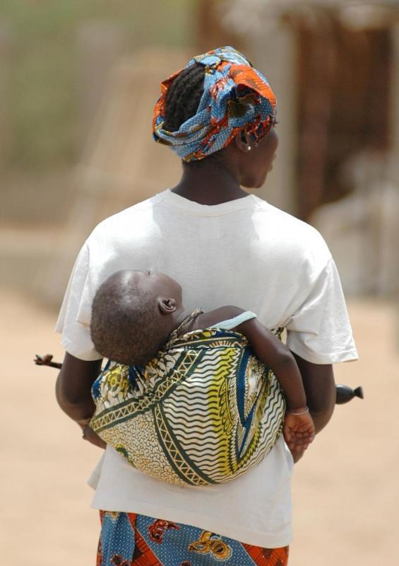 Maman et son bébé (Avril 2007)