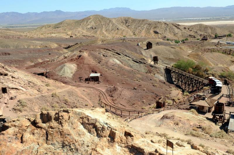 Mine de Calico