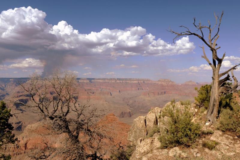 Gran Canyon au coucher du soleil
