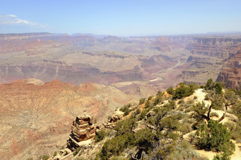 Le Grand Canyon au lever du soleil