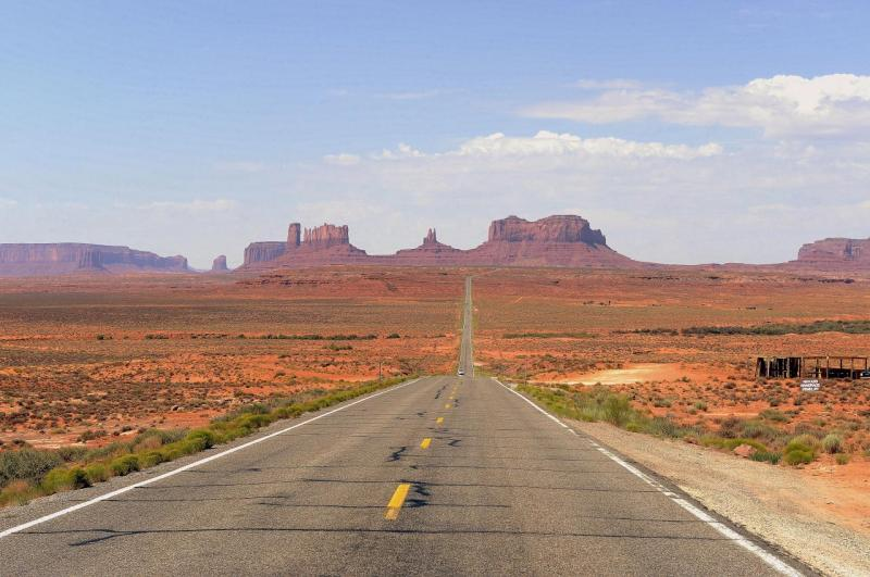 Arrivée à Monument Valley